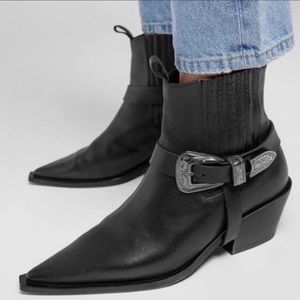 NWOB Anine Bing pointed ankle boots size 38